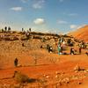 【3泊4日砂漠ツアー 1日目①】砂漠へ、雪山を越えてスープラトゥールのバスで行く