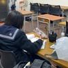 テスト後にも勉強を続ける生徒