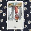 きょうのカード 2017/10/31 ソード 8(逆位置)