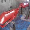 ドゥカティ・レッドの塗料