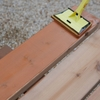 傷んだウッドデッキの床板を張り替え【塗装~完成編】