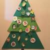 幼児の工作⑤〜簡単クリスマスツリー〜