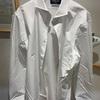 メーカーズシャツ鎌倉でトーマスメイソン生地のパターンオーダーワイシャツを作っていただいた