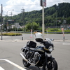 浜田の海とオートバイ神社修行