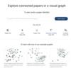 関連論文をネットワークに視覚化する CONNECTED PAPERS
