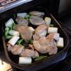 幸運な病のレシピ( 1540  )夜:ふろふき大根、鳥の照焼、リンゴのワイン煮