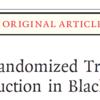 黒人男性への散髪屋で薬剤師を介した降圧の介入は有効