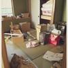 和室の収納 大掃除。