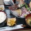 尾久【たらく】ホウボウ姿盛り定食 ¥750