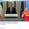 聞き取りの練習, need to do ~, 間接疑問, not just A but also B, など(新型コロナウイルスに関する、アイルランド首相のすばらしいスピーチ)