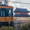🚞近鉄奈良線朱雀門でスナックカー