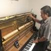 超ひさしぶりに生ピアノの調律。