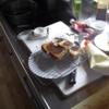 幸運な病のレシピ( 1591 )昼:フライパンで焼きサンド
