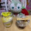 プレシアさんのHI!チーズレモネードパルフェとドンレミーさんのきなことゴマのパフェ!!