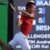 錦織が2大会連続8強 テニス男子シングルス