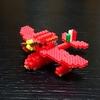 【アイロンビーズ3D】紅の豚より、サボイア S.21 試作戦闘飛行艇