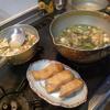 幸運な病のレシピ( 2051 )朝:甘塩鱒、味噌汁、マユのご飯