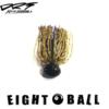 【ディヴィジョン】フットボールヘッドのジグ「エイトボール」通販サイト入荷!