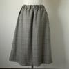 mパターン研究所  シャーリングAラインスカートを作りました