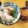 松江の名店!あごだし白湯ラーメン「麺屋ひばり」