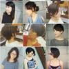 【ヘアスタイル】DISCOVERY......お客さんの髪型、まとめ写真。ヒトミの自己紹介。