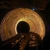 50元は高い。上海に7年いて初めて外灘観光隧道を使ってみた。