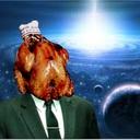 炎に清められた鶏肉