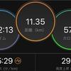 閾値走5km 2回目 先週はやっぱり出来過ぎだった
