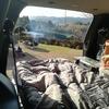 テントを乾かすのが嫌だから車中泊にしてみた。