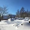 雪のブリティッシュヒルズへ行ってきた。