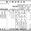 ヤマダ・ウッドハウス 第4期決算公告 / ヤマダ電機100%子会社のハウスメーカー