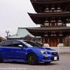 【SUBARU】 WRX STI (D型) 新車1ヶ月点検 & フロントリップスポイラー取り付け