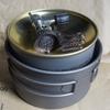 Soomloomチタン7点クッカーセット➈ 大鍋小鍋にOD缶
