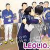 橋本聖子と高橋大輔のキス画像イラスト1