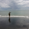 【写】七里ヶ浜の撮影会の様子。