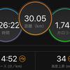 【北海道マラソンまで21日】息も絶え絶え30km走