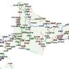 北海道廃線の映像があったので地図とリンクさせてみた。