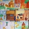 4年生:教室前の絵 新美南吉の世界