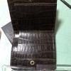 「コンパクト二つ折り財布」ようやく形になってきた!/レザークラフト④