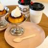 UNI COFFEE ROASTERY 横浜日本大通り店で固めプリンのおやつタイム!【食べレポ】