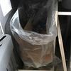 連休でうっかりゴミ出しを忘れた!おかげでさらにミニマル化したゴミ箱。