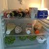 冷蔵庫の中とかストック品。私の普段の食べ物