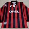 ユニフォーム 666枚目 ACミラン 1997-1998シーズン ホーム用 長袖 バレージ引退記念試合仕様