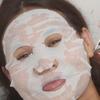 カンボジアのチェンちゃん、顔パックに挑戦しました。