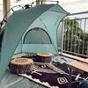 公園用テントを筒型に新調