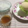 最近ハマっている朝ごはん☆とっても美味しい!そうめん・ハンバーガー☆