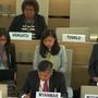 第41回人権理事会:(35・36回会合)中央アフリカ共和国およびロヒンギャにおける人権状況に関する双方向対話/技術支援とキャパシティビルディングに関する一般討論