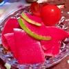 紅芯大根のパリポリ浅漬サラダ