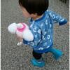 【1歳7か月】男の子でも、ぬいぐるみが大好き☆