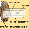 実写コンテンツ×3Dモデルで立体感を感じるA-Frameアプリケーション